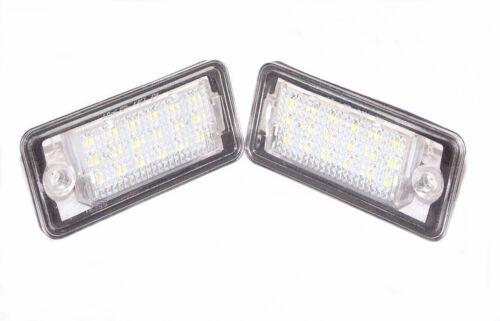 LED Kennzeichen Beleuchtung Nummernschild LD-ADPA Audi A3 A4 8E B6 A6 RS6 Q7