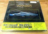 Star Trek Voyager Laserdisc Box Set 3rd Season Vol 1 & Sealed