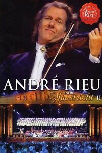 """Andre Rieu """"live a Maastricht 2"""" DVD NUOVO"""