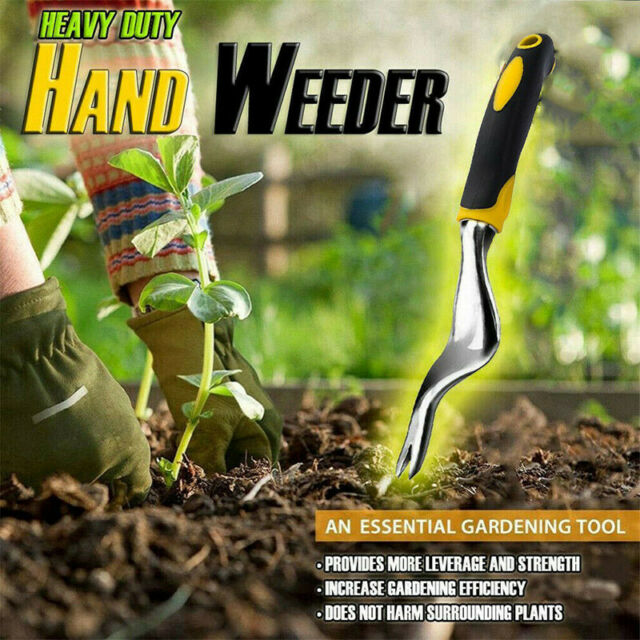 Hand Weeder Tool Garden Weeding Removal Cutter Tools with Ergonomic Handle !
