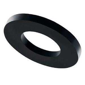100 pezzi FASTON Rondelle in plastica M6 di plastica dischi grandi dischi a U
