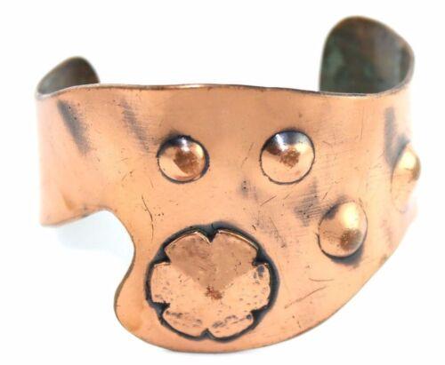 SIGNED Vtg Modernist WINIFRED MASON Chenet Copper