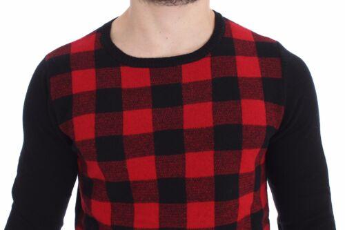 Nwt lana C'n'c Suéter Costume redondo Black cuello con Red Top de It52 400 Xl National 4qn4CZBw