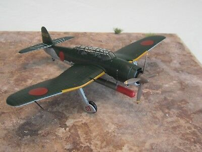 """Die Cast /""""Aichi A13A1/"""" W.W.II Aircraft Collection Fighter 1//72 No.84"""