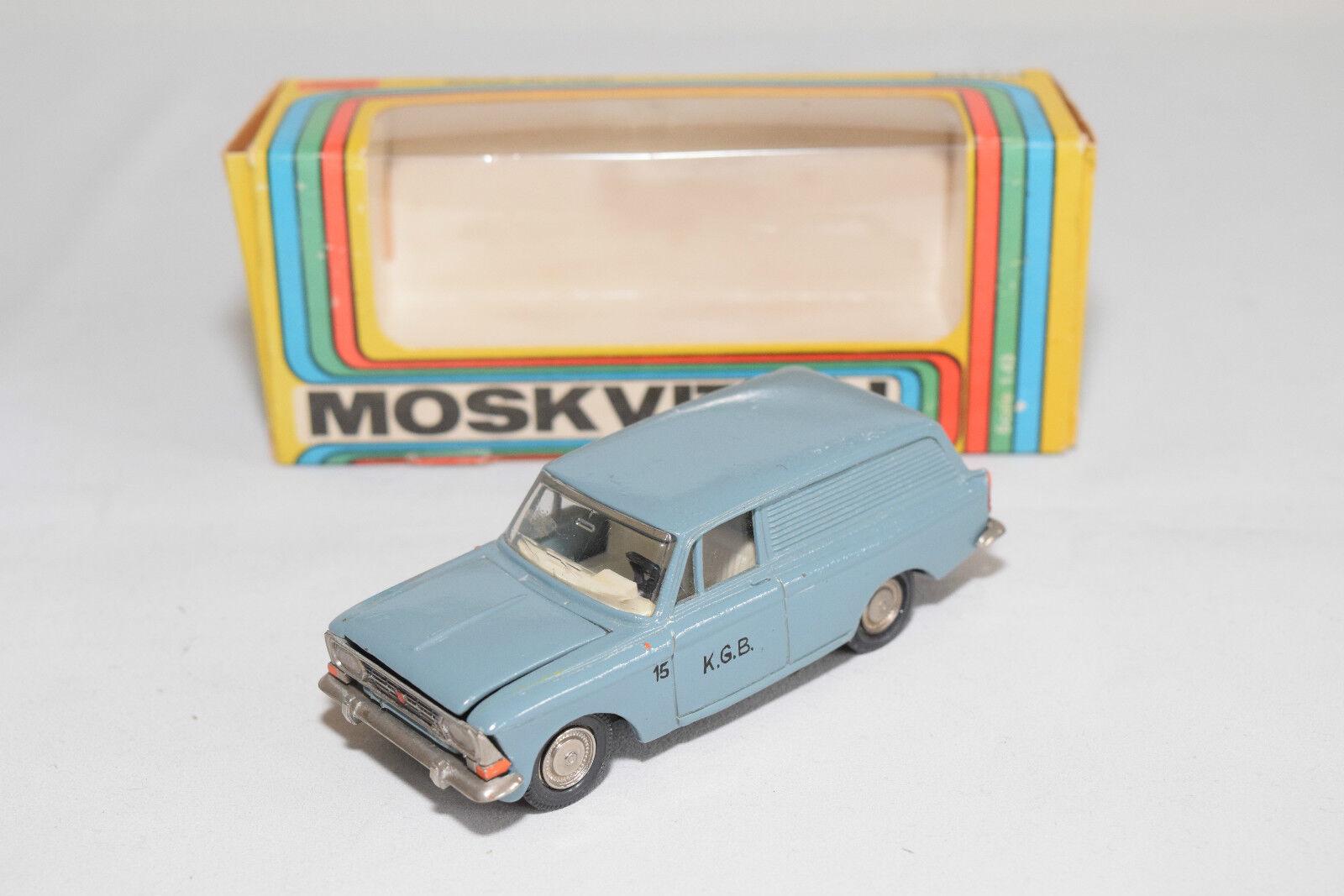 RUSSIAN CCCP USSR NOVOEXPORT MOSKVITCH 433 KGB K.G.B. NM BOXED RARE SELTEN