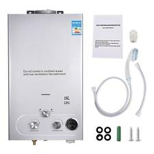 18L 5GPM Hot Water Heater Upgrade Type Propane Gas Instant Boiler W// Shower Kit