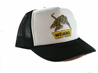 Vintage Weiand Intake Manifolds Drag Racing Trucker Hat Snapback Hat Black