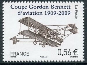 STAMP-TIMBRE-FRANCE-N-4376-COUPE-GORDON-BENETT-D-039-AVIATION