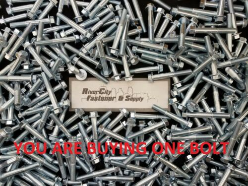 1 M12-1.75 x 80 Metric Hex Flange Bolts 12mm x 80mm Screws M12x1.75x80