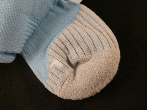 Ventilated Football Socks BNIB UK Size 8 1//2-10 Adidas Light Blue Ergonomic