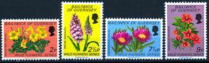 GUERNSEY-1972-FIORI-SELVATICI-SERIE-COMPLETA-NUOVA