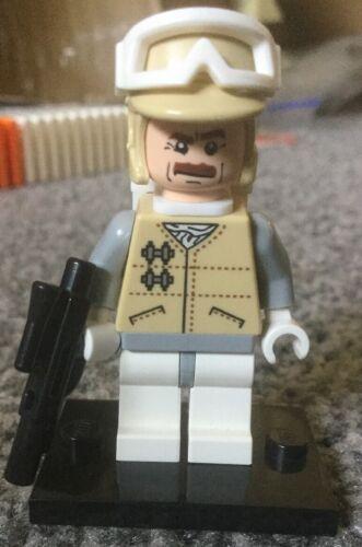 Lego Star Wars Minifigure Hoth Rebel Trooper Officer Lideck Firest 8083