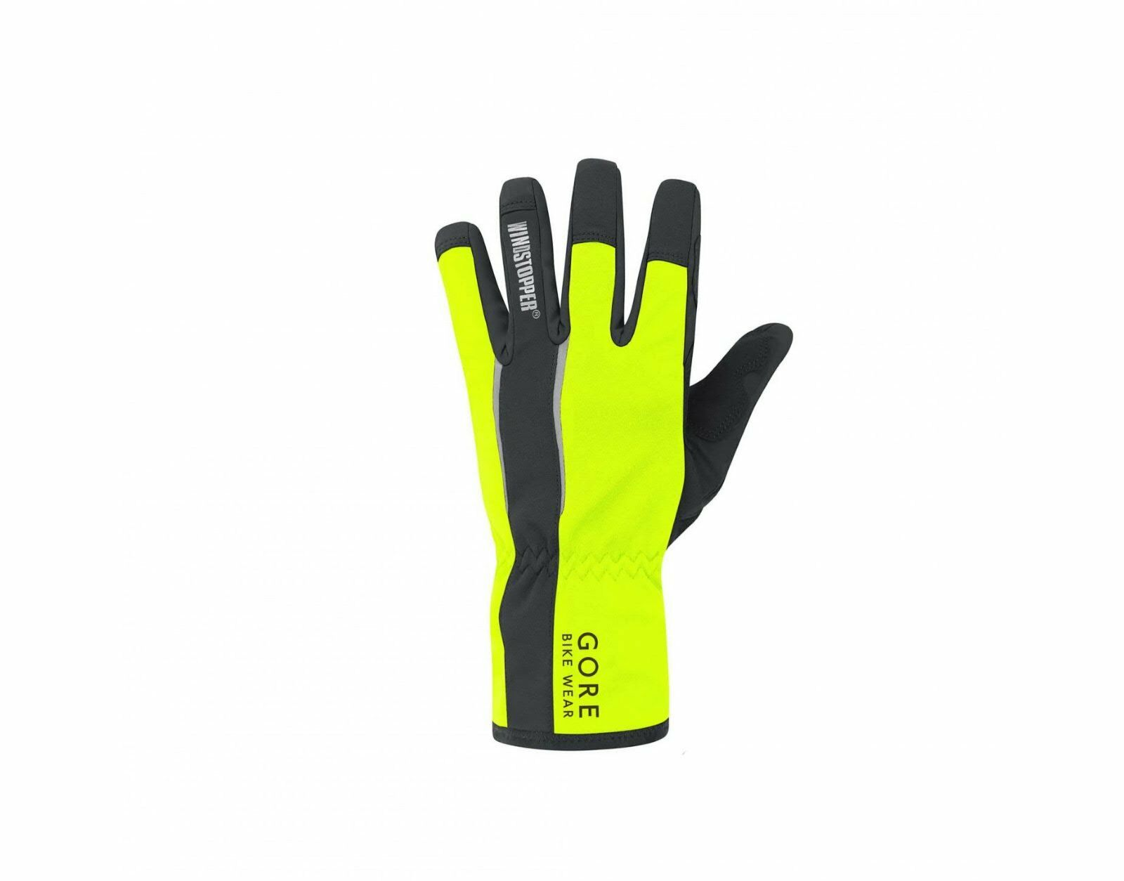 Gore ® Bike Wear Power Power Power tan gloves, negro/Neon Amarillo, XL/9 nuevo embalaje original 78d326