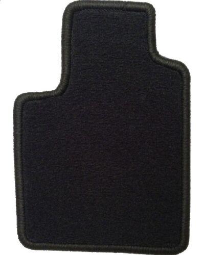 Extra schwarz Cadillac BLS 03//06-4 Autoteppiche Fussmatten Vel