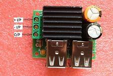 24V 12V to 5V 5A 4 USB Car Charger Power Supply Step-Down Converter