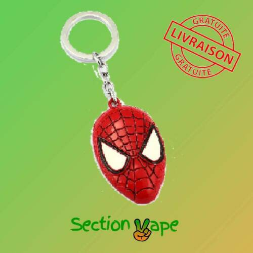 masque Spiderman Porte clés Marvel Avengers Métal