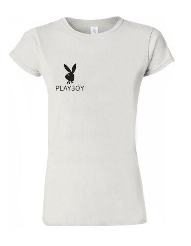 T-Shirt Vest Tank Top Men Women Unisex Tshirt UK Seller M163 Malu Playboy BNNY