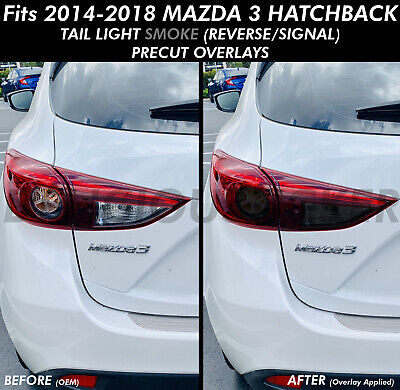 Fits 2014-2018 Mazda 3 Hatchback 5-Door Full Car Precut Window Tint Kit Film