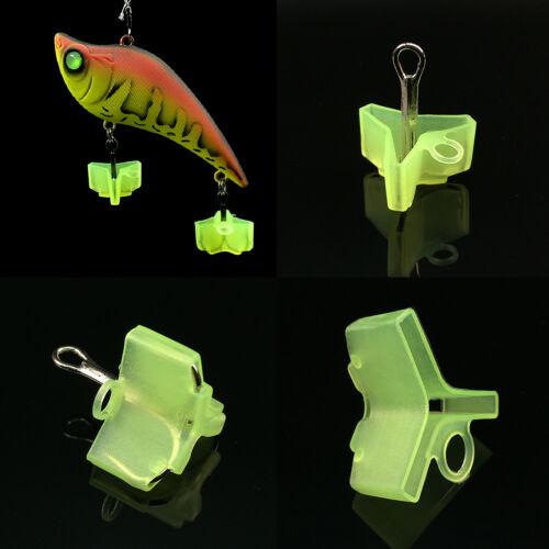 10//50Pcs Durable Fishing Treble Hooks Jig Covers Case Bonnets Caps*ProtectoFBTC