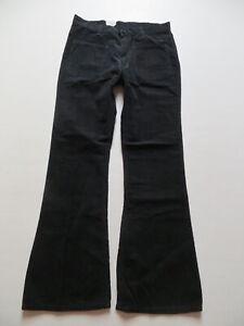 Levi-039-s-Cord-Schlag-Jeans-Hose-W-33-L-32-schwarz-NEU-70-039-er-Jahre-Schlaghose