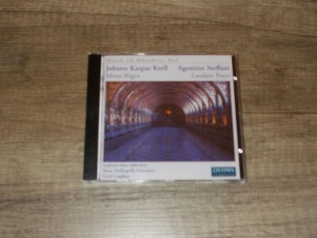 Kaspar Kerll: Missa Nigra / Steffani: Laudate Pueri - München - Guglhör - CD