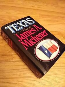 Texas-by-James-A-Michener-Random-House-NY-1985-1st-Edition-1st-Print-Dust-Cover