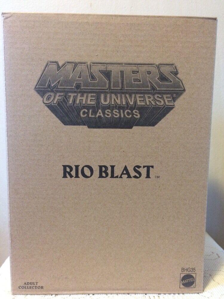 Masters Of The Universe Classics. RIO  BLAST NEW NEW NEW   5d3c14