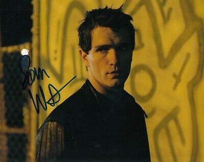 Tv Show 8x10 *aidan Waite* Photo W/coa #4 Novel being Human Considerate Sam Witwer Signed Design; In