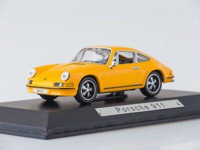 1:43 EBBRO 44796 Porsche 911S 1969 Orange Model cars