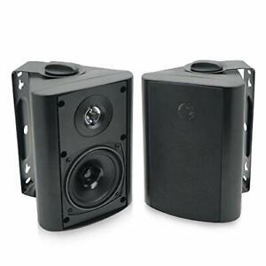Herdio-d-039-exterieur-4-in-environ-10-16-cm-interieur-haut-parleurs-Bluetooth-Etanche-Support-Mural