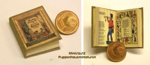 Puppenhaus 1011# Miniatur Kinderbuch König Nussknacker Puppenstube M 1:12