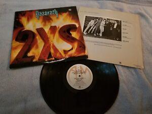Nazareth 2xs 1982 Vinyl Lp Record Album Sp 4901