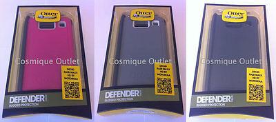 New Genuine OtterBox Defender Series Case for Motorola DROID RAZR MAXX HD- Black