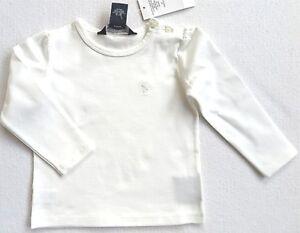 14c4a3b3a08da7 Das Bild wird geladen Polo-Ralph-Lauren-Langarmshirt-weiss-Gr-18-Monate