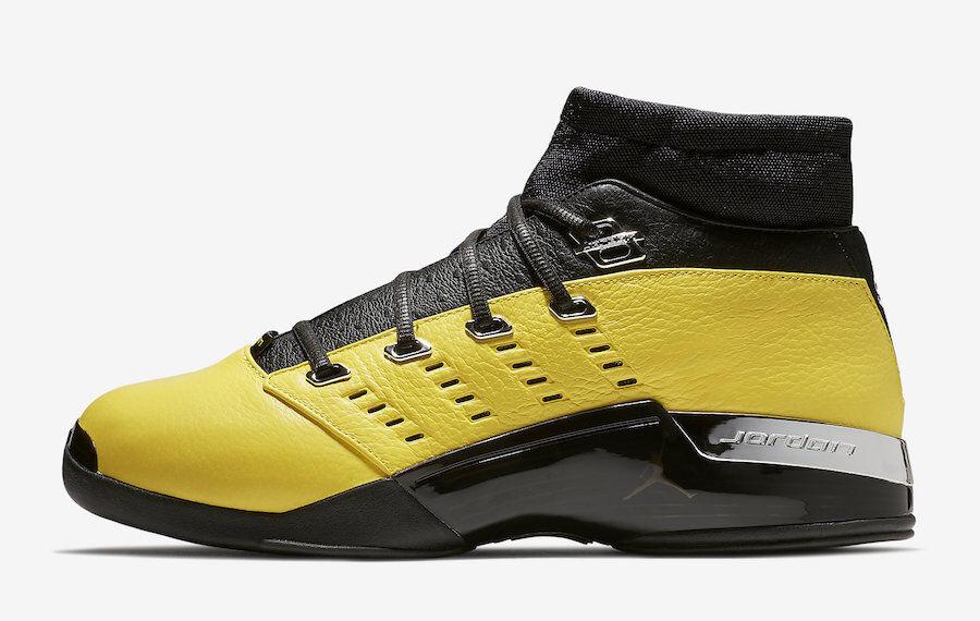 Nike Air Jordan 17 Retro Low Solefly SZ 10.5 Black Lightening AJ7321-003