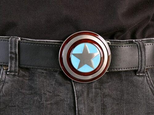 Captain America Belt Buckle