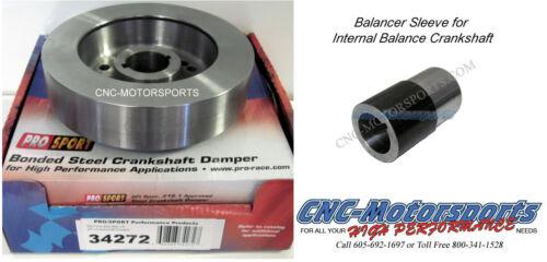 BB Ford 429 460 Pro Sport Race SFI Harmonic Balancer Internal Balance Spacer