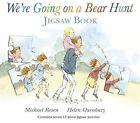 We're Going on a Bear Hunt Jigsaw Book by Michael Rosen (Hardback, 2013)