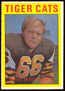 1972-OPC-O-PEE-CHEE-CFL-FOOTBALL-11-DOUG-MITCHELL-NM-HAMILTON-TIGER-CATS-CARD