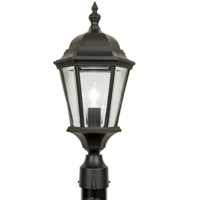 Newport Crest Altina Outdoor Black Post Light