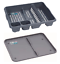 Dish-Drainer-with-Drip-Tray-Plate-Rack-High-Grade-Plastic-Cutlery-Holder-Kitchen thumbnail 16