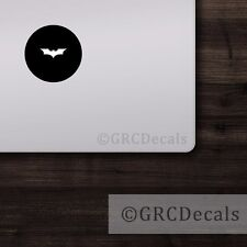 Batman -- Mac Apple Logo Laptop Vinyl Decal Sticker Macbook Dark Knight Hero