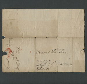 Lenox MA: 1802 Letter from SAMUEL QUINCY to Gen. Thos. Ives of Great Barrington