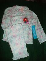 Girls Pajamas Ariel Little Mermaid 2 Pc Sleep Set Disney Store 5/6