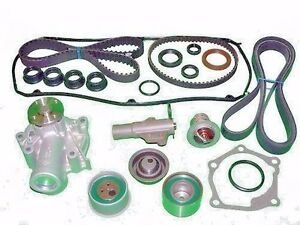 Details about Timing Belt Kit Mitsubishi Outlander 2 4 WATER PUMP  TENSIONERS SEALS DRIVE BELT
