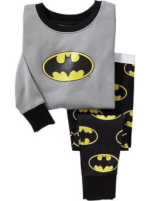 Gelb 3 bis 24 Monate Jungen Batman Langarm-T-Shirt Baby