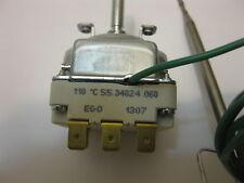 E.G.O thermostat  55.34024.060 THREE PHASE 32-110 DEG c  CAPILLARY 3X16A 250V