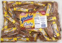 Yoo Hoo Candy Mini Bars 100 Count Chocolate Flavored Treats Yoohoo 3 1/4 Lb Bag
