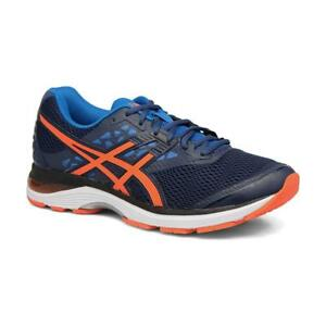 asics bleu orange