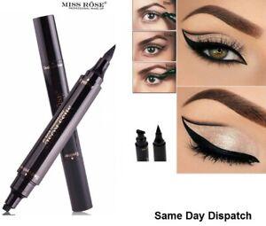 Details About Winged Wing Eyeliner Stamp Super Fast Uk Delivery Pencil Black Vamp Cat Eyes Uk